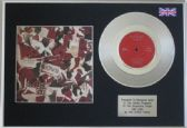 "THE STONE ROSES  - 7"" Platinum Disc+cover - ONE LOVE"